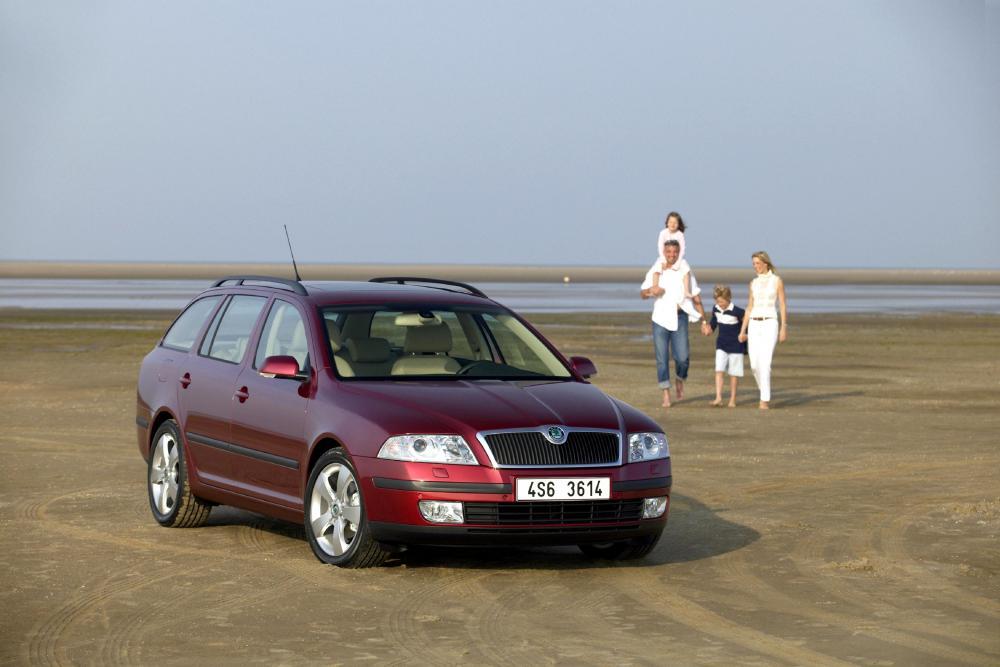 Skoda Octavia 2 поколение (2004-2008) Combi универсал 5-дв.