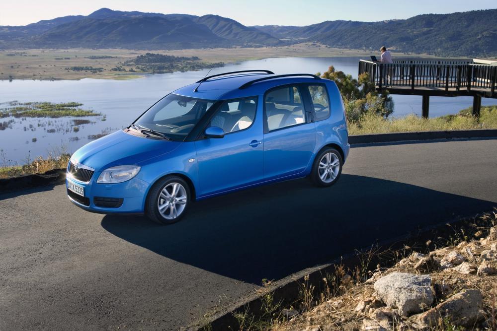 Skoda Roomster 1 поколение (2006-2010) Минивэн 5-дв.