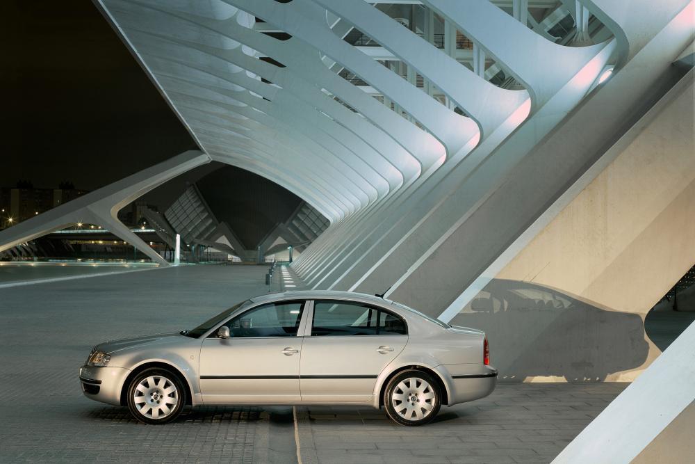Skoda Superb 1 поколение (2001-2006) Седан