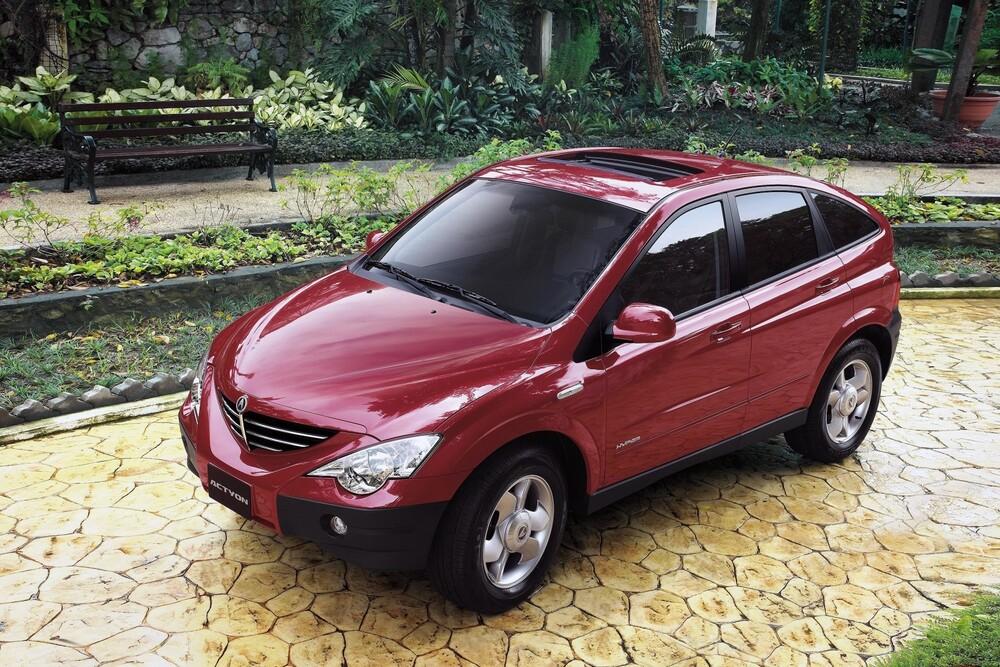 SsangYong Actyon 1 поколение (2005-2012) Внедорожник