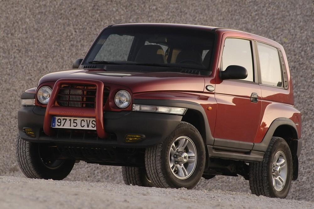SsangYong Korando 2 поколение (1997-2006) Hard Top внедорожник 3-дв.