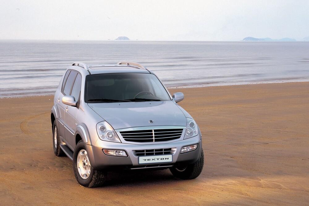 SsangYong Rexton 1 поколение Y200 (2001-2007) Внедорожник