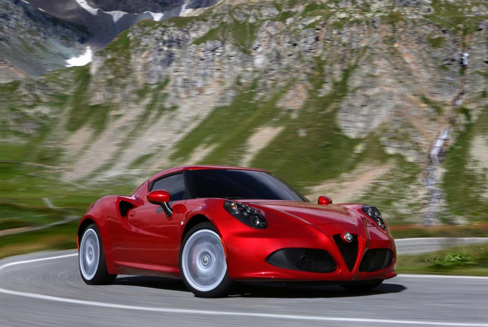 Alfa Romeo 4C 1 поколение Купе