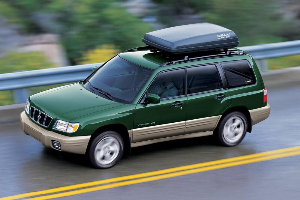 Subaru Forester 1 поколение рестайлинг