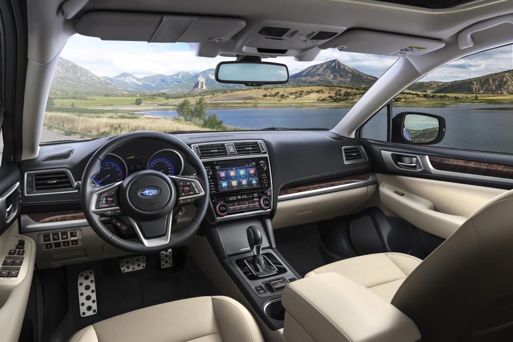 Subaru Outback 5 поколение [рестайлинг] (2018) Универсал