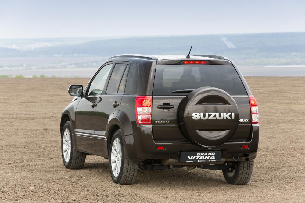 Suzuki Grand Vitara 2 поколение [2-й рестайлинг] (2012-2014) Кроссовер 5-дв.