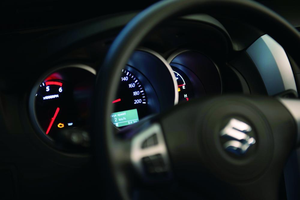 Suzuki Grand Vitara 2 поколение [2-й рестайлинг] (2012-2014) Кроссовер 5-дв. интерьер