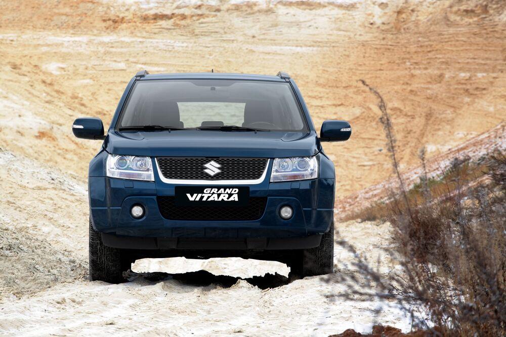 Suzuki Grand Vitara 2 поколение [рестайлинг] (2008-2012) Кроссовер 5-дв.