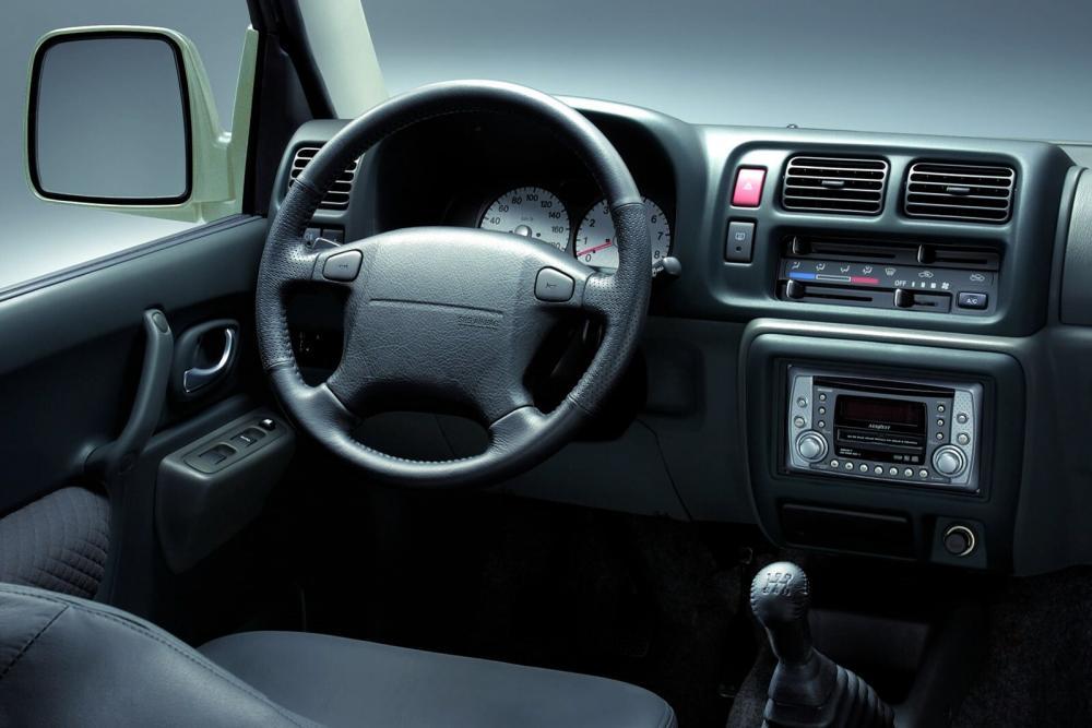 Suzuki Jimny 3 поколение Внедорожник 3-дв. интерьер