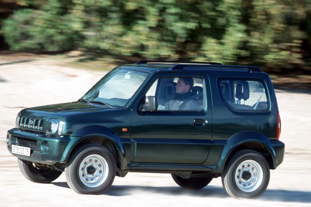 Suzuki Jimny 3 поколение Внедорожник 3-дв.