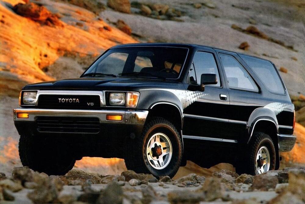 Toyota 4Runner 2 поколение (1989-1992) Внедорожник 3-дв.