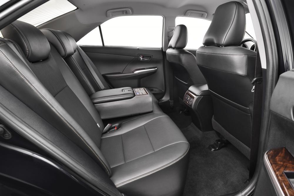 Toyota Camry 7 поколение XV50 [рестайлинг] (2014-2018) Седан интерьер