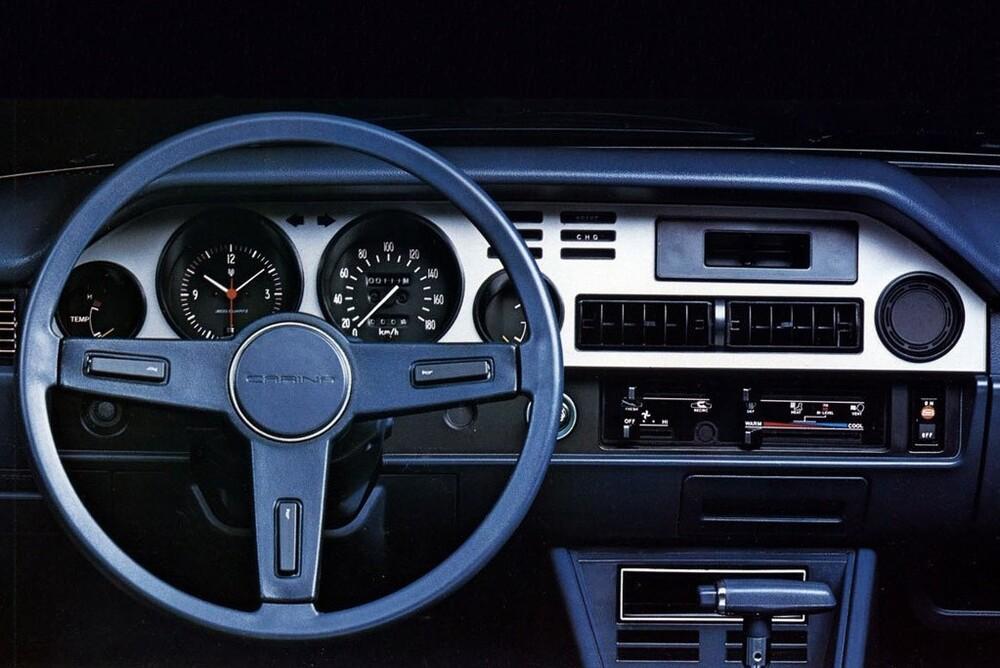 Toyota Carina 2 поколение A40/A50 (1977-1979) Седан 2-дв.