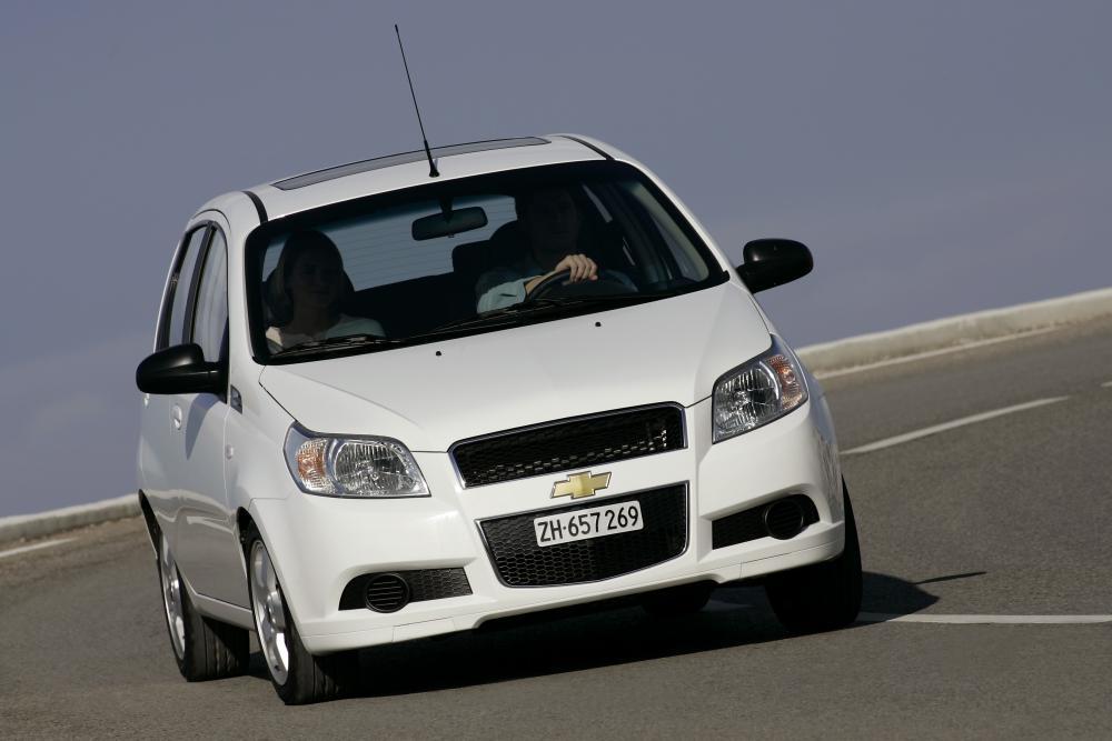 Chevrolet Aveo T250 рестайлинг (2006-2012) Хетчбэк 5-дв.