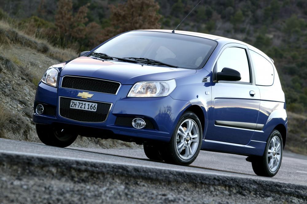 Chevrolet Aveo T250 рестайлинг (2006-2012) Хетчбэк 3-дв.