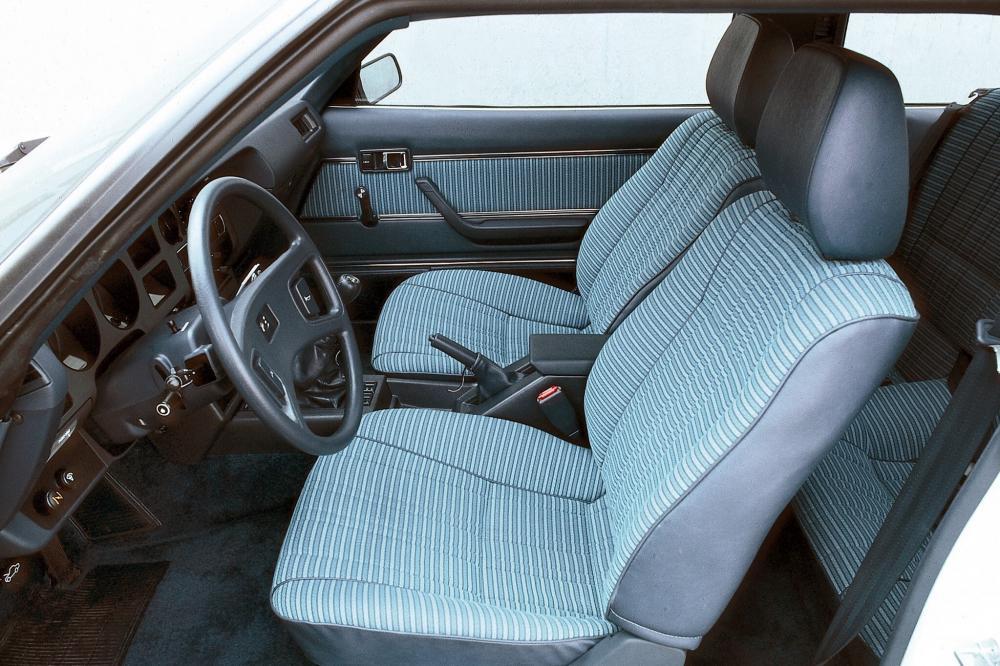 Toyota Celica 2 поколение [рестайлинг] (1979-1981) Лифтбэк интерьер