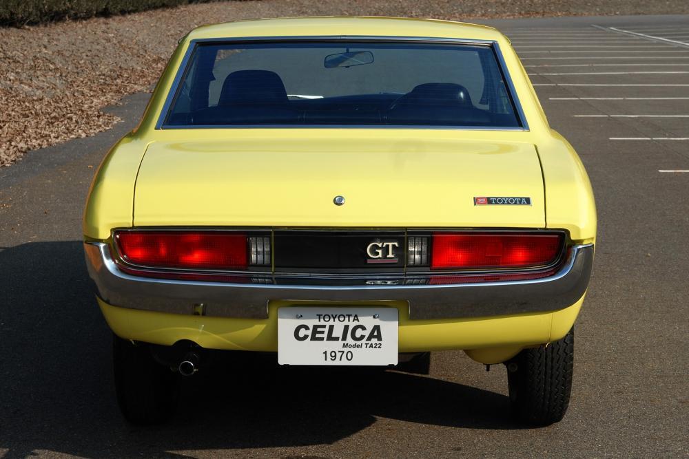 Toyota Celica 1 поколение (1970-1977) Купе