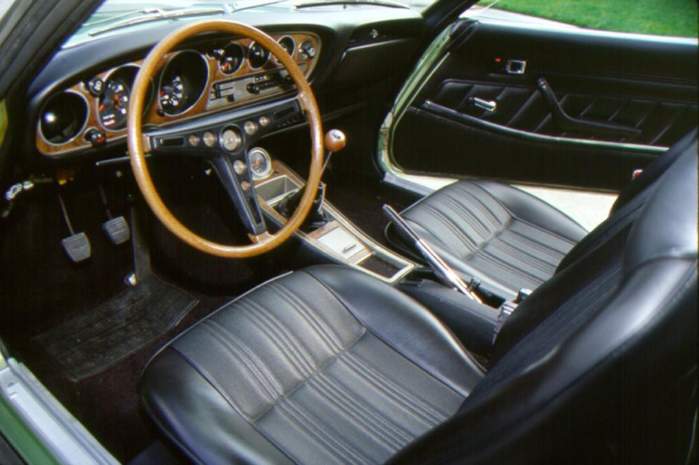 Toyota Celica 1 поколение (1970-1977) Купе интерьер