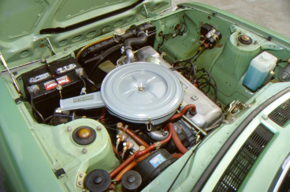 Toyota Celica 1 поколение (1970-1977) Купе двигатель
