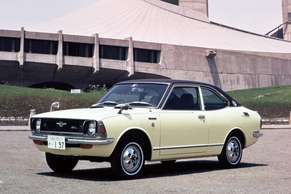 Toyota Corolla 2 поколение E20 (1970-1974) Купе 2-дв.