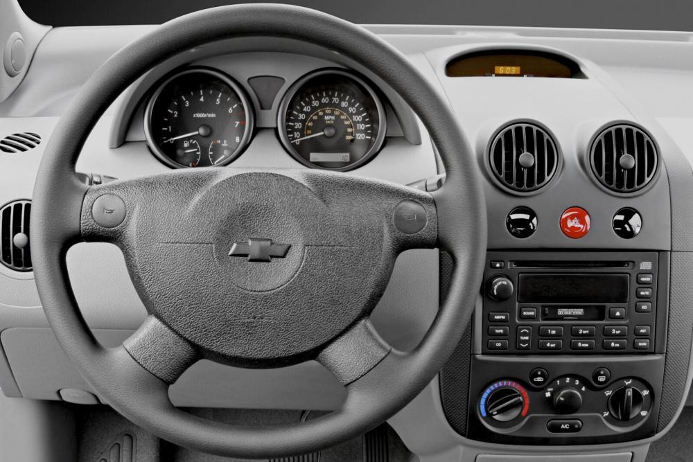 Chevrolet Aveo T200 (2003-2008) Седан интерьер