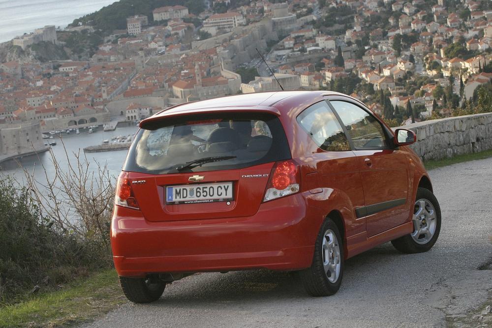 Chevrolet Aveo T200 (2003-2008) Хетчбэк 3-дв.