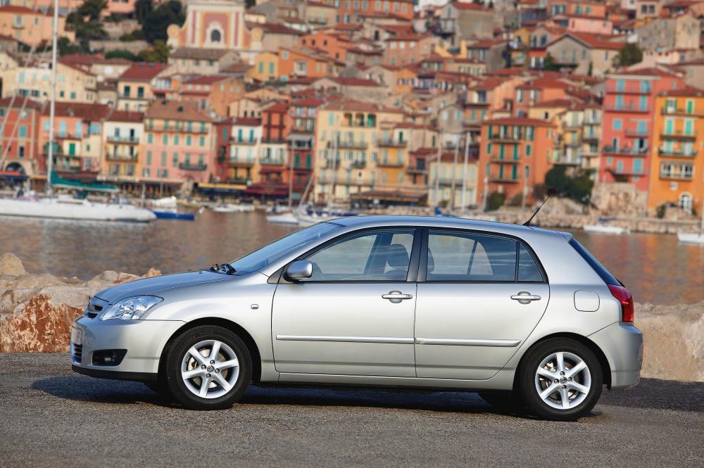 Toyota Corolla 9 поколение E130 [рестайлинг] (2004-2007) Хетчбэк 5-дв.