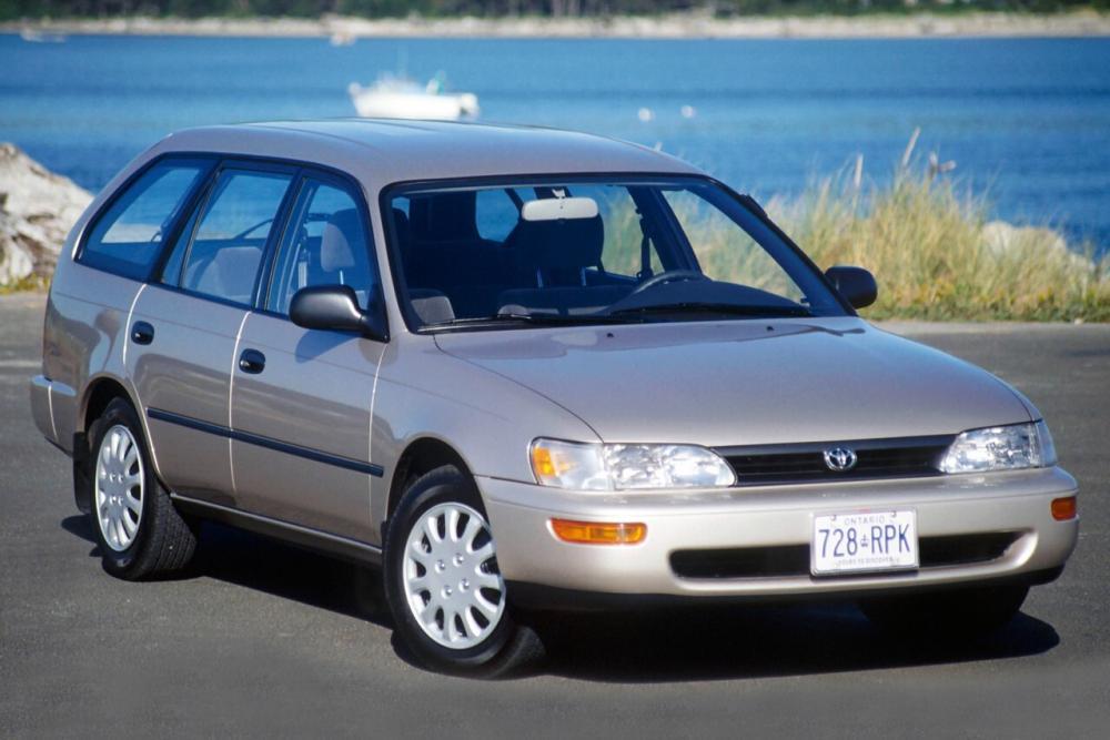 Toyota Corolla 7 поколение E100 (1992-2002) Универсал