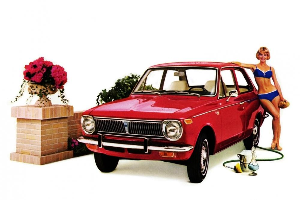 Toyota Corolla 1 поколение E10 (1966-1970) Седан