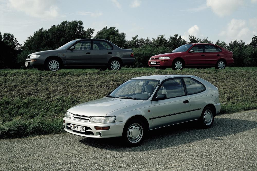 Toyota Corolla 7 поколение E100 (1991-1998) Хетчбэк 3-дв.