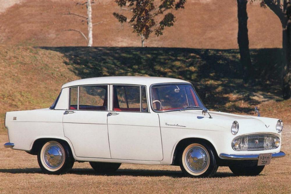 Toyota Corona 2 поколение T20 (1960-1964) Седан