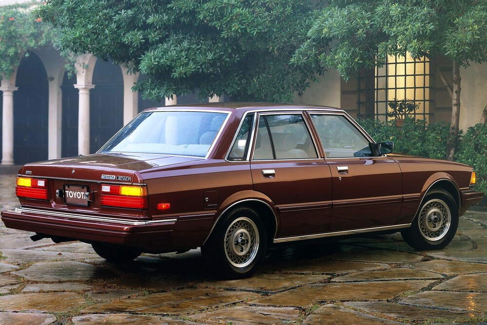 Toyota Cressida 2 поколение X60 (1980-1983) US-Spec. седан 4-дв.