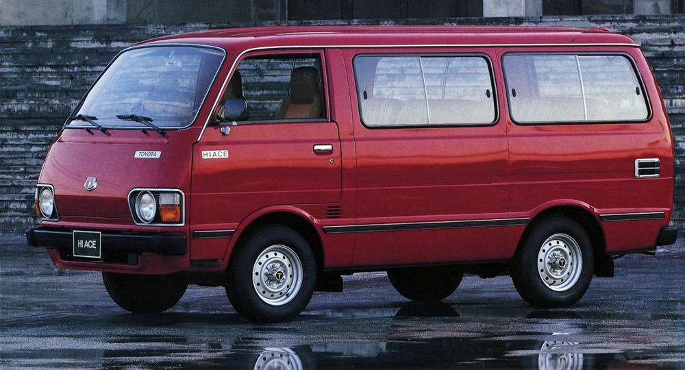 Toyota Hiace 2 поколение H20/H30/H40 (1977-1982) Минивэн 4-дв.