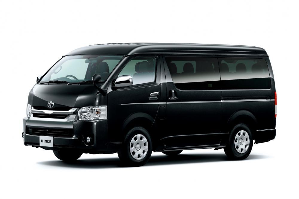 Toyota Hiace 5 поколение H200 [рестайлинг] (2010) Минивэн