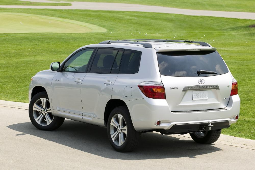 Toyota Highlander 2 поколение (2008-2010) Кроссовер