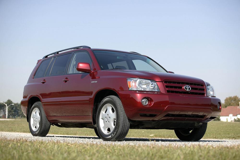 Toyota Highlander 1 поколение [рестайлинг] (2004-2007) Кроссовер