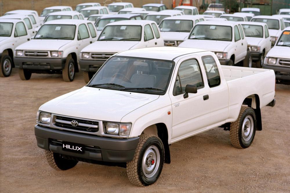 Toyota Hilux 6 поколение (1997-2001) Xtracab пикап 2-дв.