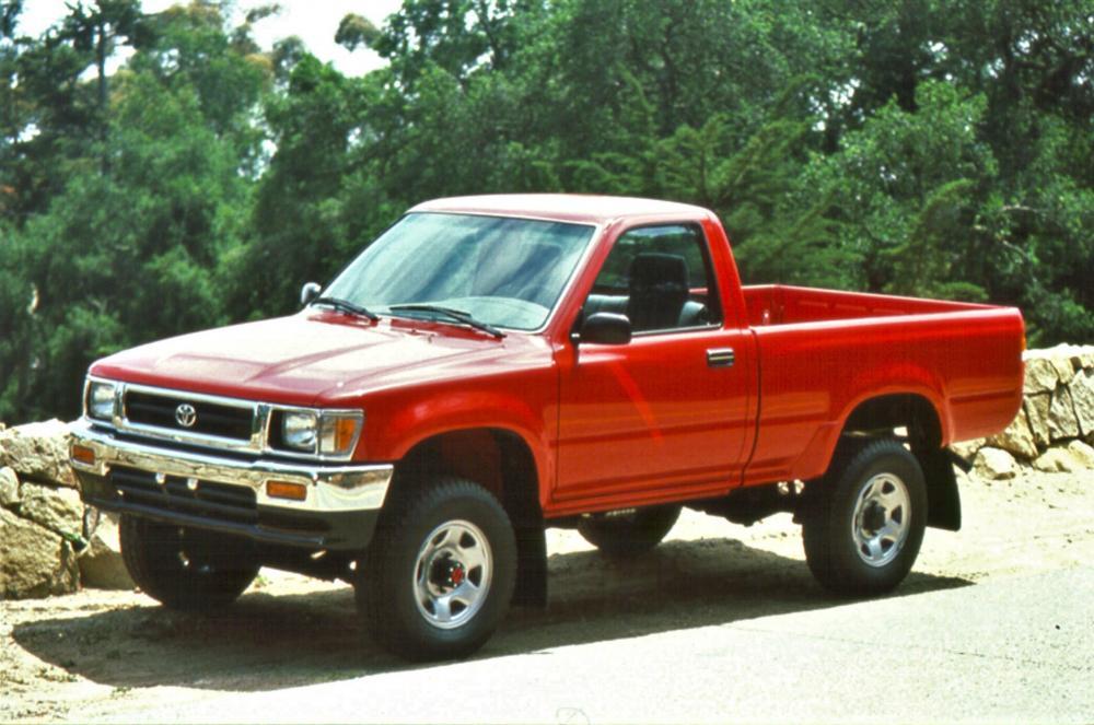 Toyota Hilux 5 поколение [рестайлинг] (1991-1997) Пикап 2-дв.