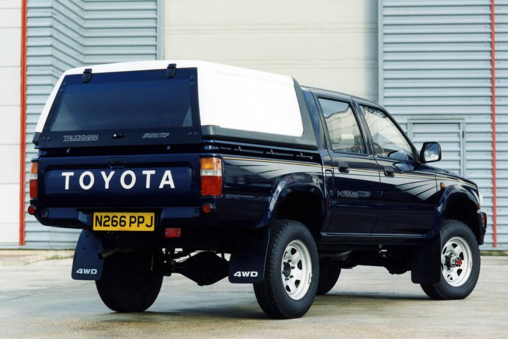 Toyota Hilux 5 поколение [рестайлинг] (1991-1997) Пикап 4-дв.
