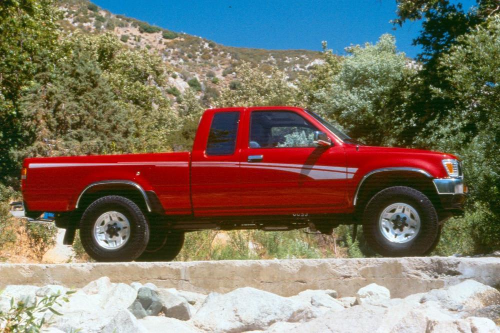 Toyota Hilux 5 поколение [рестайлинг] (1991-1997) Xtracab пикап 2-дв.