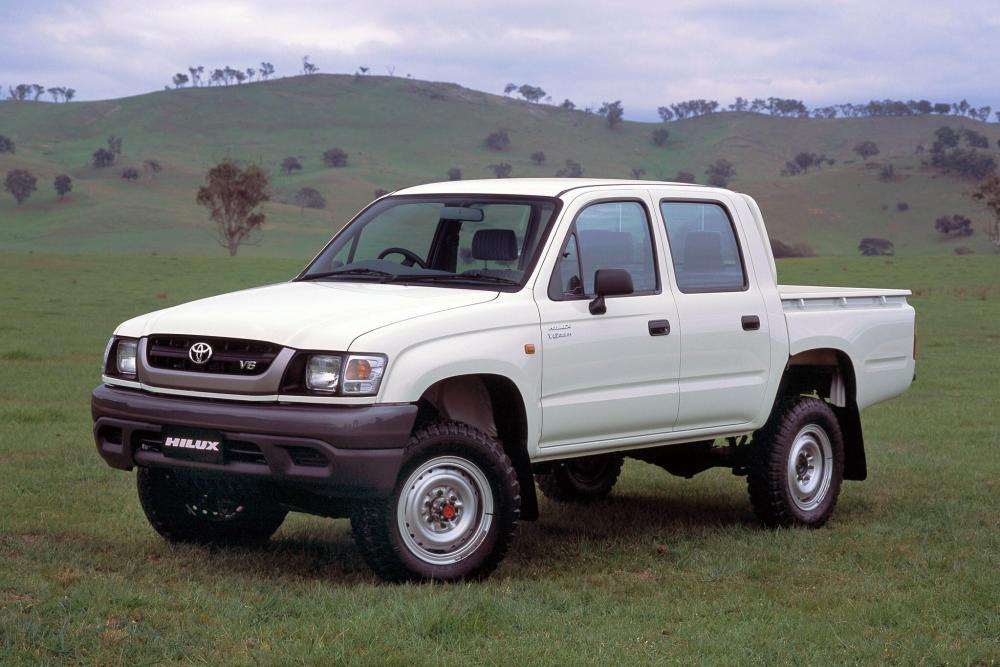 Toyota Hilux 6 поколение рестайлинг