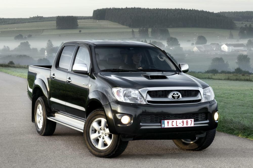 Toyota Hilux 7 поколение [рестайлинг] (2008-2011) Double Cab пикап