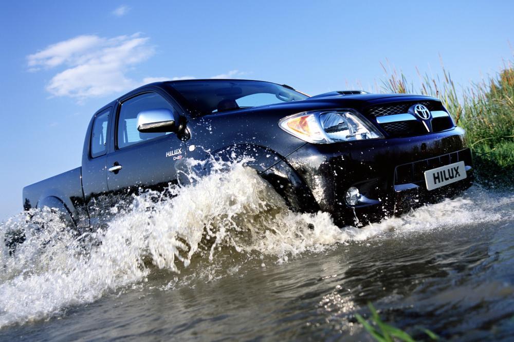 Toyota Hilux 7 поколение (2005-2008) Extended Cab пикап 2-дв.