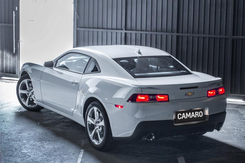 Chevrolet Camaro 5 поколение рестайлинг Купе