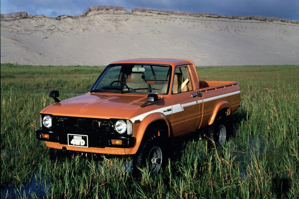 Toyota Hilux 3 поколение (1978-1983) Пикап 2-дв.
