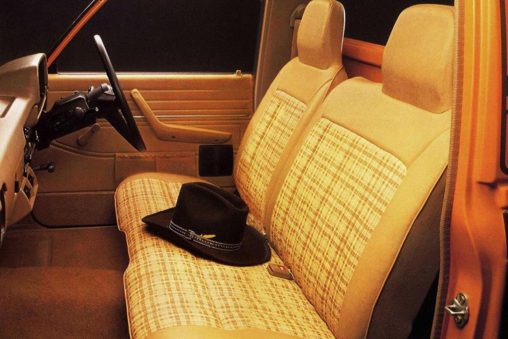 Toyota Hilux 3 поколение (1978-1983) Пикап 2-дв. интерьер