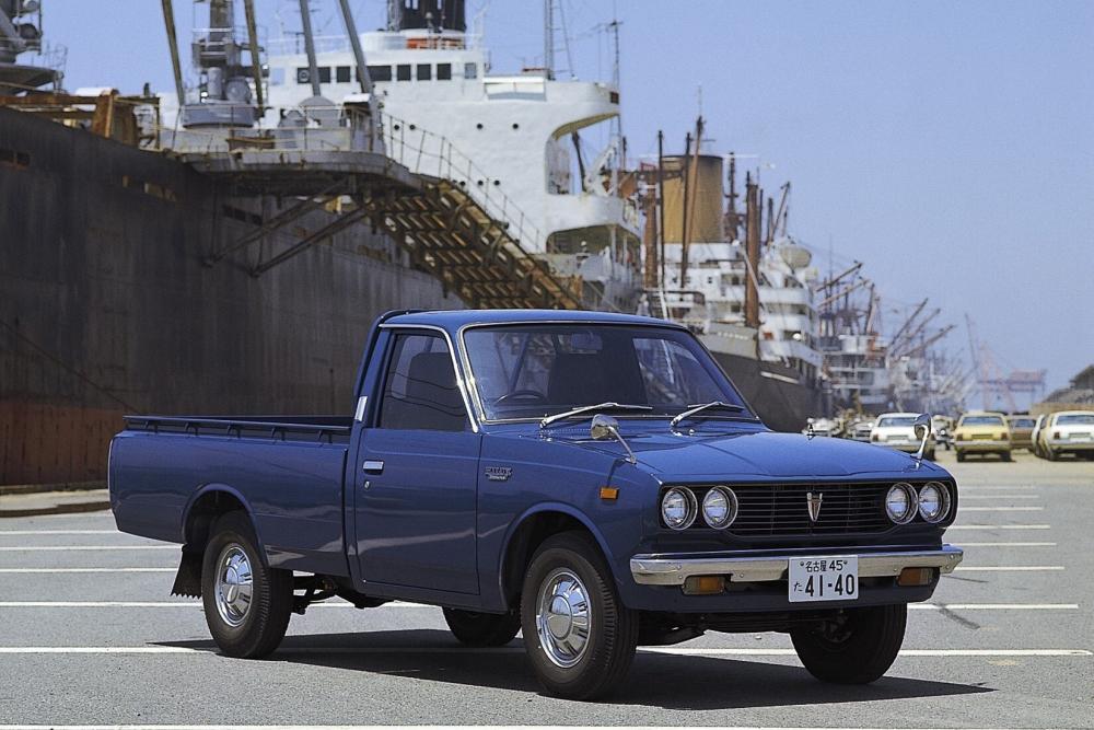 Toyota Hilux 2 поколение (1972-1978) Пикап