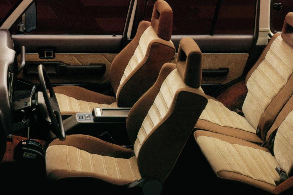Toyota Land Cruiser J60 [рестайлинг] (1987-1990) Внедорожник интерьер