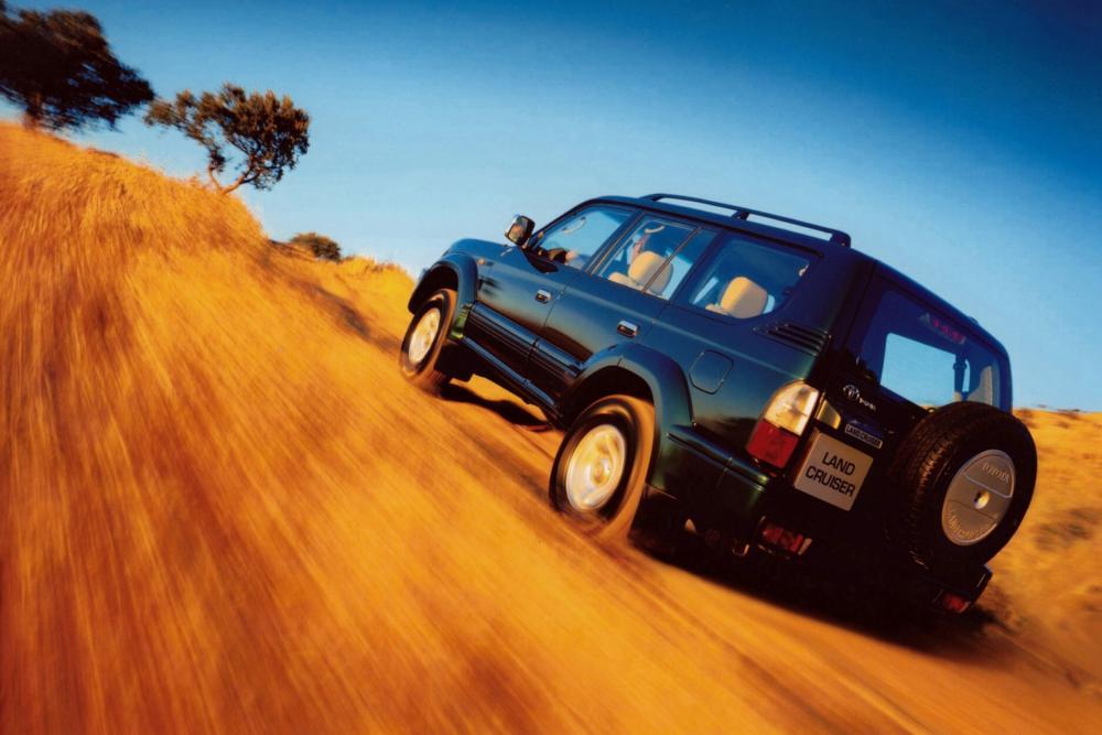 Toyota Land Cruiser Prado J90 [рестайлинг] (1999-2002) Внедорожник 5-дв.
