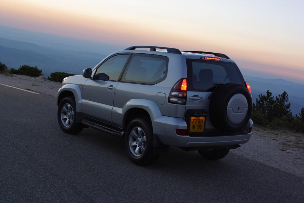Toyota Land Cruiser Prado J120 (2002-2009) Внедорожник 3-дв.